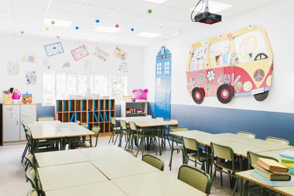 ambientación aula