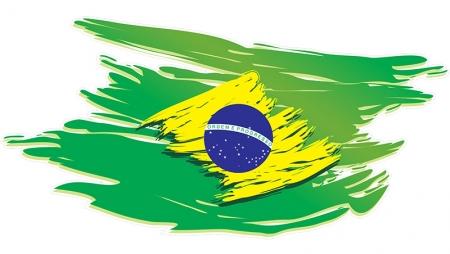 américa del sur con brasil