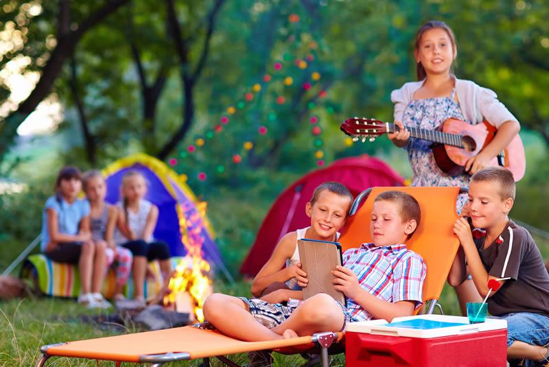campamentos niños