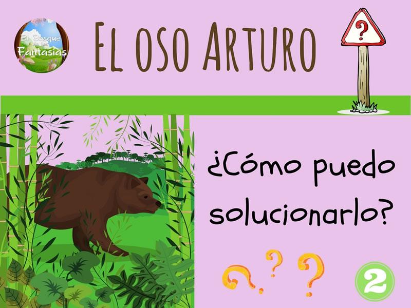 el oso arturo dibujo 2