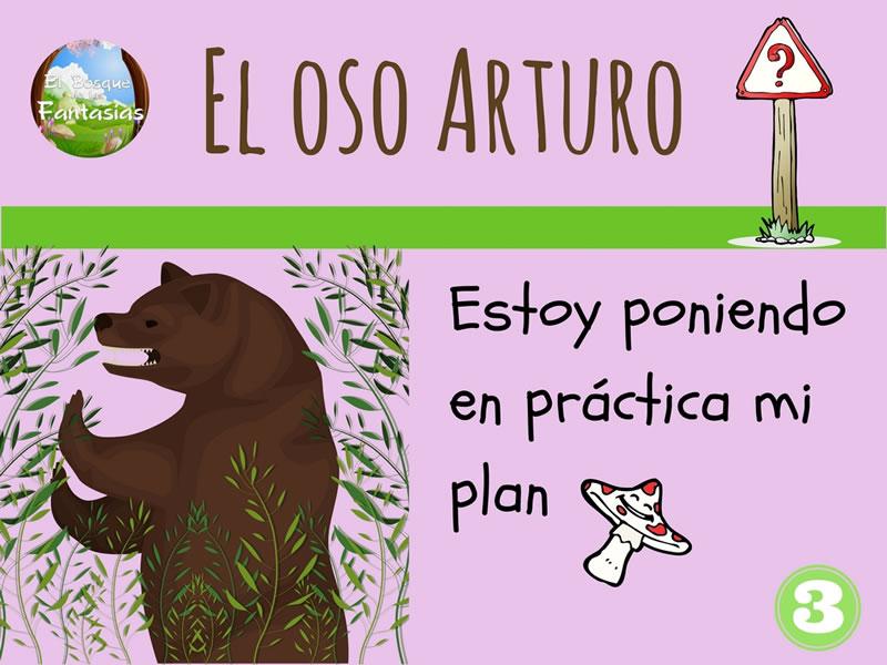 el oso arturo dibujo 3