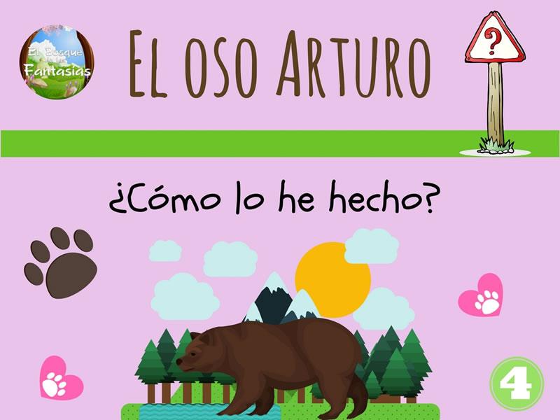 el oso arturo dibujo 4