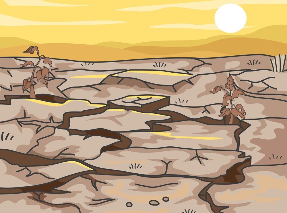 hambre y sequía